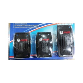 R3 Junction Produce Universal Pedal Covers For Manual Transmission -SehgalMotors.Pk