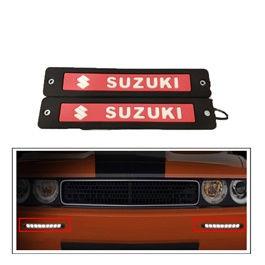 Suzuki Flexible LED DRL Red - Pair | Daytime Running Lights | Car Styling Led Day Light | DRL Lamp-SehgalMotors.Pk