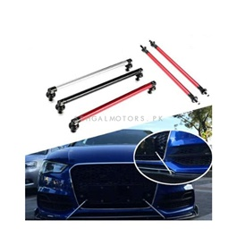 Adjustable Car Front Bumper Lip Splitter Canard Strut Brace Rod Support Bar - Multi | Bumper Canard Hook
