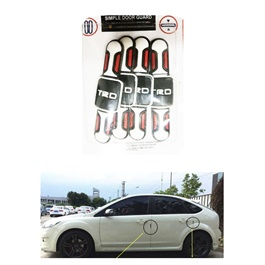 TRD New Style Door Guard Protector - Multi | Warning Door Side Edge Protection Anti-Scratch Protector-SehgalMotors.Pk