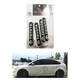 Toyota Door Guards Oval Style - Multi | Door Protection | Door Guards | Door Protection Gadget | Side Door Edge Protector-SehgalMotors.Pk