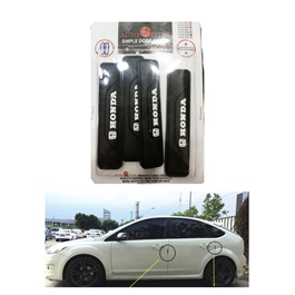 Honda Door Guards Protector Style A - Pure Black | Door Protection | Door Guards | Door Protection Gadget | Side Door Edge Protector-SehgalMotors.Pk