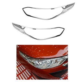 Toyota Yaris Headlight Chrome Cover - Model 2020-2021