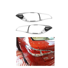 Toyota Yaris Back Lamps Chrome Cover - Model 2020-2021