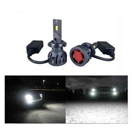 Sirius Brightest SMD Head lamp Replacement LED 50w - 9005 | For Head Lights | Headlamps | Bulb | Light