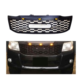 Toyota Hilux Vigo JMC Style Front Grille with Lights  Model 2005-2016-SehgalMotors.Pk