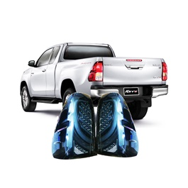 Toyota Hilux Revo Back Lamps / Back Lights Smoke V2 - Model 2016-2020-SehgalMotors.Pk