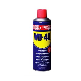 WD40 Anti-Rust Lubricant , Penetrating Oil and water-displacing spray - 420ml