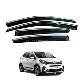KIA Picanto Air Press / Sun Visor With Chrome TXR A+ Quality- Model 2019- 2020-SehgalMotors.Pk