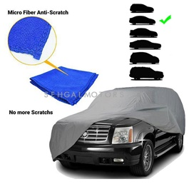 Premium Medium Microfiber Micro Fiber Anti-Scratch Top Cover | Anti Scratch Soft Fleece | Random Multi Colors - Multi Hatch Back Size-SehgalMotors.Pk