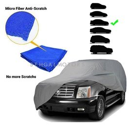 Premium Large Microfiber Micro Fiber Anti-Scratch Top Cover | Anti Scratch Soft Fleece | Random Multi Colors - Multi Sedan Size-SehgalMotors.Pk