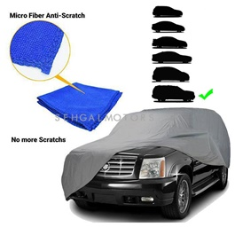 Premium LC Microfiber Micro Fiber Anti-Scratch Top Cover | Anti Scratch Soft Fleece | Random Multi Colors - Multi SUV Size-SehgalMotors.Pk