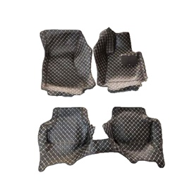 Audi A4 7D Luxury Floor Mats Black - Model 2006-2012