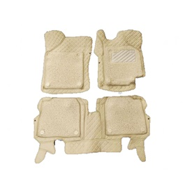 Suzuki Wagon R 9D Floor Mats Beige and Beige - Model 2014-2021-SehgalMotors.Pk