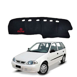 Suzuki Cultus Dashboard Carpet For Protection and Heat Resistance with Suzuki Logo Old Model - Model 2000-2016