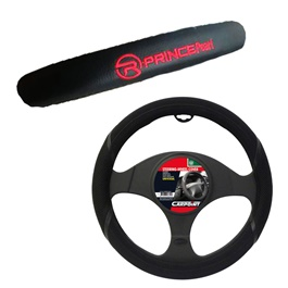 Prince Pearl Special Steering Cover With Logo | Long Life | Best Steering Cover -SehgalMotors.Pk