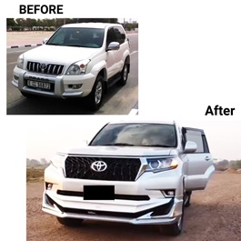 Toyota Prado Old Model Conversion / Upgrade from 2003 to 2020 Model -SehgalMotors.Pk