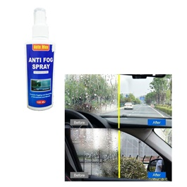 Auto Max Anti Fog Spray | Prevents Fogging of Glass or Plastic Windows, Mirrors, Eyewear Lenses, Glasses, Swim Goggles, Ski Masks, Binoculars | Streak Free, Long Lasting Solution-SehgalMotors.Pk