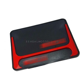 Dashboard Non Slip / Anti-Skid Mat Red And Black | Anti Skid Material | Silicon Type Dashboard Mat | Car Anti Slip Mat-SehgalMotors.Pk