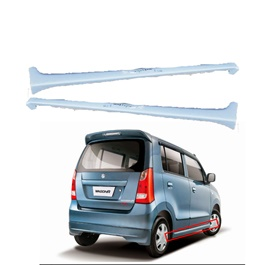 Suzuki Wagon R Side Foot Panel Skirts Fiber Glass Pair - Model 2014-2020-SehgalMotors.Pk