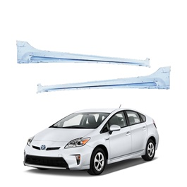 Toyota Prius Side Foot Panel Skirts Fiber Glass Pair - Model 2009-2015-SehgalMotors.Pk