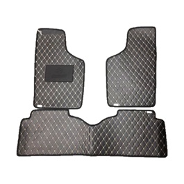 Suzuki Mehran 7D Eco Floor Mat Black Stitched Multi - Model 2012-2019 | Car Interior Mats For Floor | Car Mats | Vehicle Mats | Foot Mat For Car | Custom Car Floor Mats-SehgalMotors.Pk