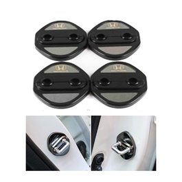 Honda Civic Door Lock Covers Black - Model 2016-2021 (121000152)