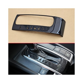Honda Civic Carbon Fiber Gear Box Cover - Model 2016-2021 (100303162)-SehgalMotors.Pk