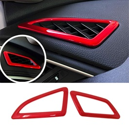 Honda Civic Ac Vent Frame Red Trims - Model 2016 - 2021 (100303149)-SehgalMotors.Pk