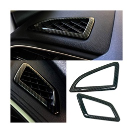 Honda Civic Ac Vent Frame Carbon Fiber Trims - Model 2016 - 2021  (100303150)-SehgalMotors.Pk