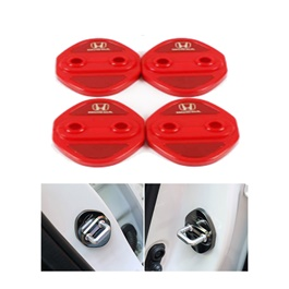 Honda Civic Door Lock Covers Red - Model 2016-2021 ( 121000149 )-SehgalMotors.Pk