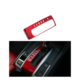 Honda Civic Red Gear Box Cover - Model 2016-2021 ( 100303161 )-SehgalMotors.Pk