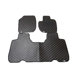 Honda Vezel 7D Eco Floor Mat Black Stitched Multi - Model 2013-2021 | Car Interior Mats For Floor | Car Mats | Vehicle Mats | Foot Mat For Car | Custom Car Floor Mats-SehgalMotors.Pk