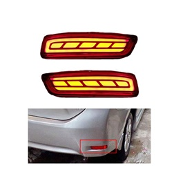 Toyota Corolla Lava Strip style Brake Bumper Light - Model 2017-2020-SehgalMotors.Pk