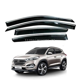 Hyundai Tucson Premium A+ Grade Quality Air Press / Sun Visor With Chrome - Model 2020 - 2021