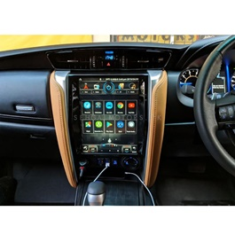 Toyota Fortuner USA Model Android Tesla LCD With AC Control Motors - Model  2016-2021 -SehgalMotors.Pk