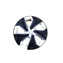 Wheel Cups / Wheel Covers ABS Matt Black And Silver 13 Inches WK2-1SL-13