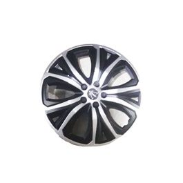 Wheel Cups / Wheel Covers ABS Matt Black And Silver 15 Inches WS1-1SL-15