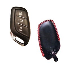 MG HS Premium Lether Key Cover -Key Protective Case - Model 2020-2021-SehgalMotors.Pk