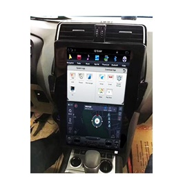 Toyota Prado 18 Inches Tesla Style LCD IPS Display Multimedia System Android- Model 2009-2018