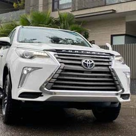 Toyota Fortuner LX570 Lexus Style NKS Body Kit / Bodykit Conversion / Upgrade V8 ( 2 Pcs )  - Model 2016-2021