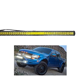 BMH Bar Light Universal Bar LED 36inch 252W 84LED Yellow | High Accuracy Jeep Light | Sharp Light | Jeep Decoration Light | Flood Spot Combo Beam Offroad Light Driving Fog Lamp-SehgalMotors.Pk