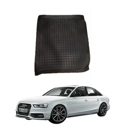 Audi A4 5D Trunk Mat - Model 2012-2016 | Trunk Boot Liner | Cargo Mat Floor Tray | Trunk Protection Mat | Trunk Tray Cover Pad-SehgalMotors.Pk