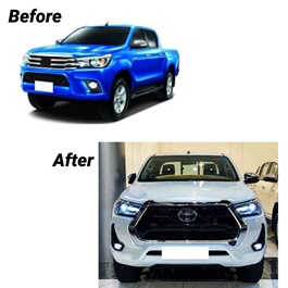 Toyota Hilux Revo Facelift Conversion 2021 China Version 2 - Model 2016-2021