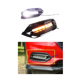 Honda Vezel Fog Lamps / Fog Lights DRL Cover RS Sensing - Model 2013-2021
