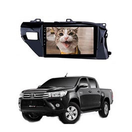 Toyota Hilux Revo  Android LCD IPS Multimedia Navigation System 10.11 Inch - Model 2014-2017-SehgalMotors.Pk