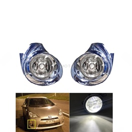 Toyota Aqua Fog Lamps / Fog Lights Chrome TY838 E - Model 2012-2018