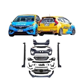 Honda FIT New Style Complete BodyKit 4 PCS- Model 2013-2018-SehgalMotors.Pk