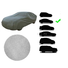 Medium Imported Custom Stitch Premium A+ Quality Microfiber Micro Fiber Anti-Scratch Top Cover Medium - | Anti Scratch Soft Fleece-SehgalMotors.Pk