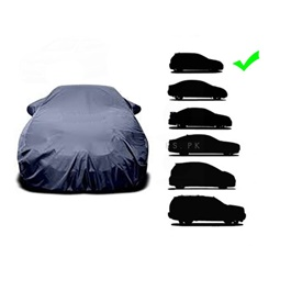 Universal Parachute Car Top Cover Small | Full Car Cover Outdoor Snow Ice Dust Sun UV Shade Cover Auto Exterior Accessories | Water Proof | Dust Proof